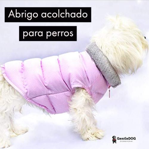 abrigo acolchado para perros