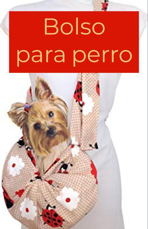 bolso para perro