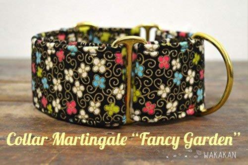 "Collar Martingale ""Fancy Garden"""