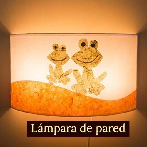 lampara de pared