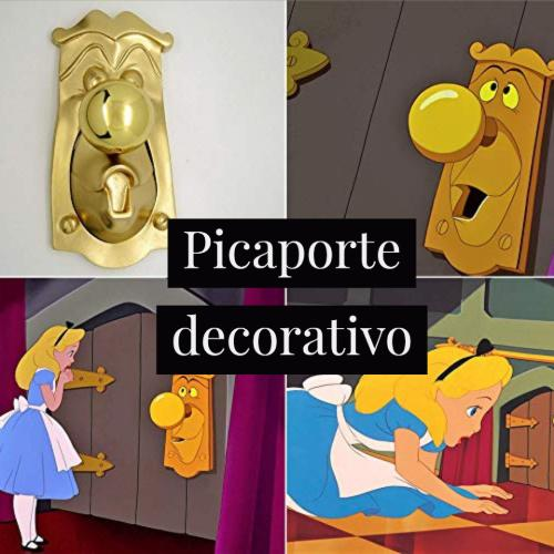 picaporte decorativo disney
