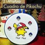 cuadro de pikachu