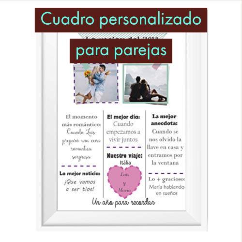 cuadro personalizado para parejas
