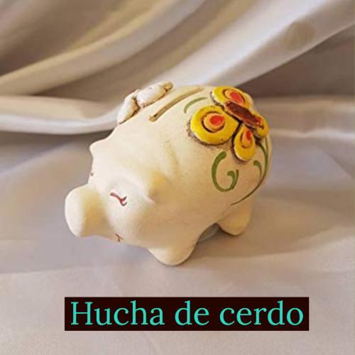 hucha de cerdo