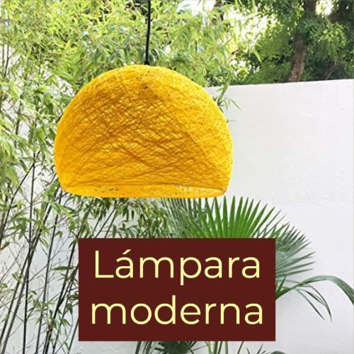 lámpara moderna
