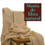 manta de fibra natural