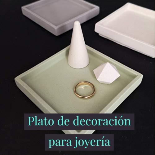 plato de decoración para joyería