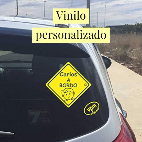 vinilo personalizado