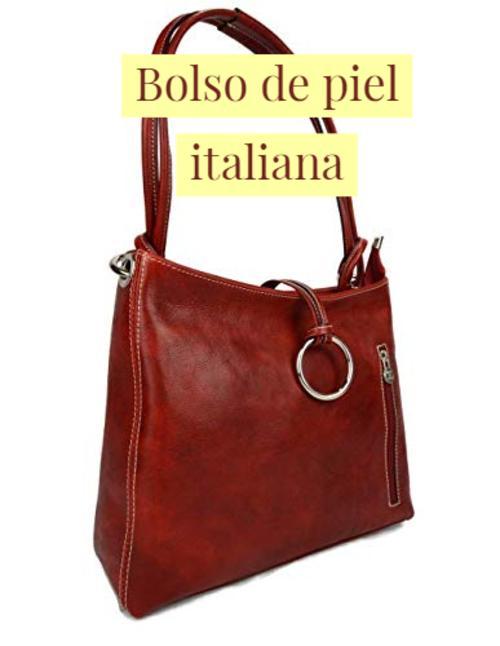bolso de piel italiana