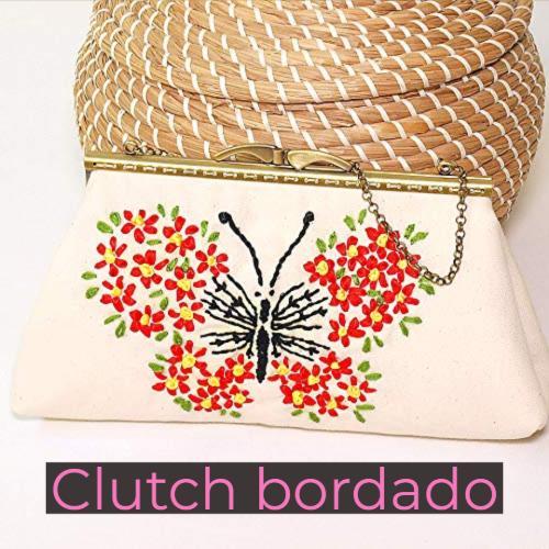 clutch bordado