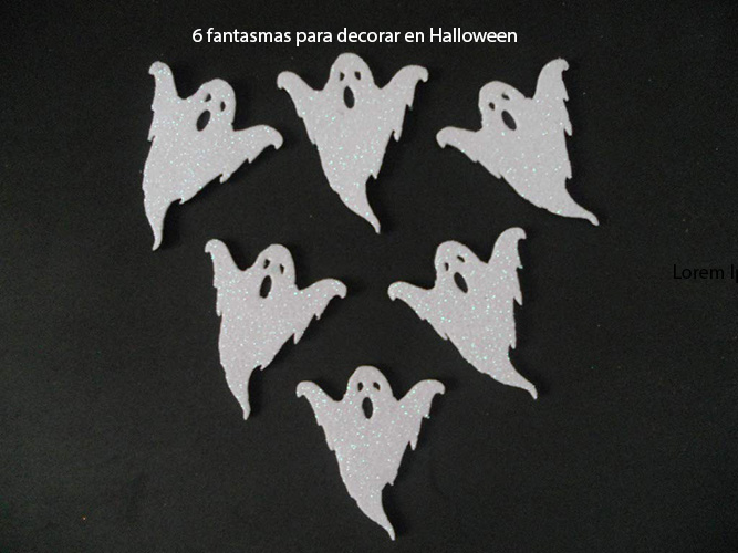 6 Fantasmas Para Decorar En Halloween Regalos Originales