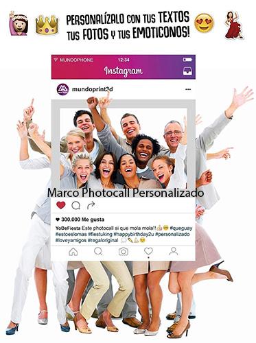 Marco Photocall Personalizado de Instagram