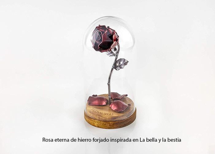 Rosa Eterna de Hierro: la bella y la bestia