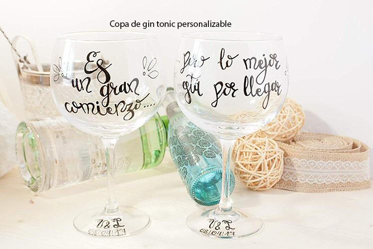 copa gin tonic personalizable: el mejor regalo