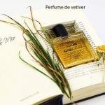 perfume de vetiver con libro