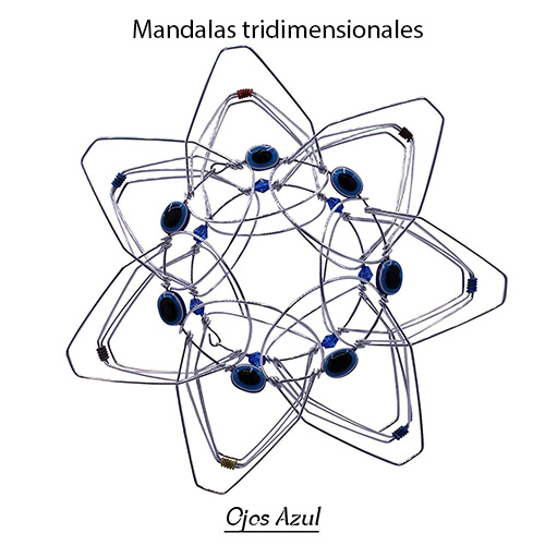 mandalas tridimensionales para la concentración