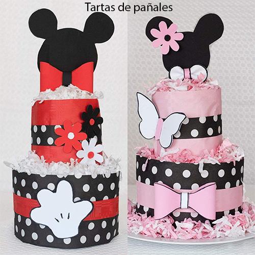 tarta de pañales para bebés